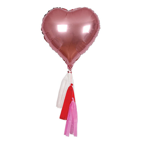 Meri Meri | Heart Mylar Balloons | Shut the Front Door