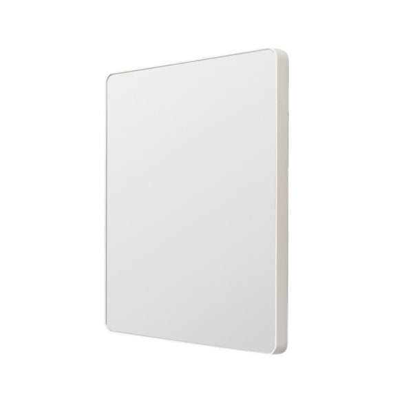 Middle of Nowhere | Flynn Curve Rectangle Mirror - White | Shut the Front Door