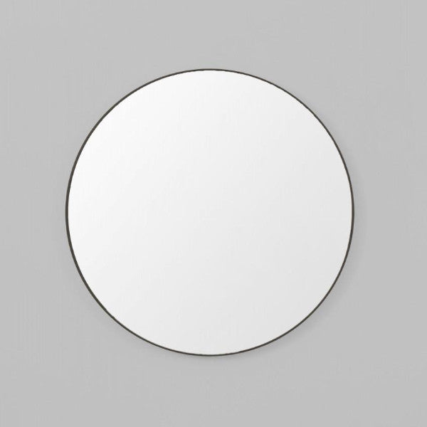 Middle of Nowhere | Flynn Round Mirror 50cm BLACK | Shut the Front Door