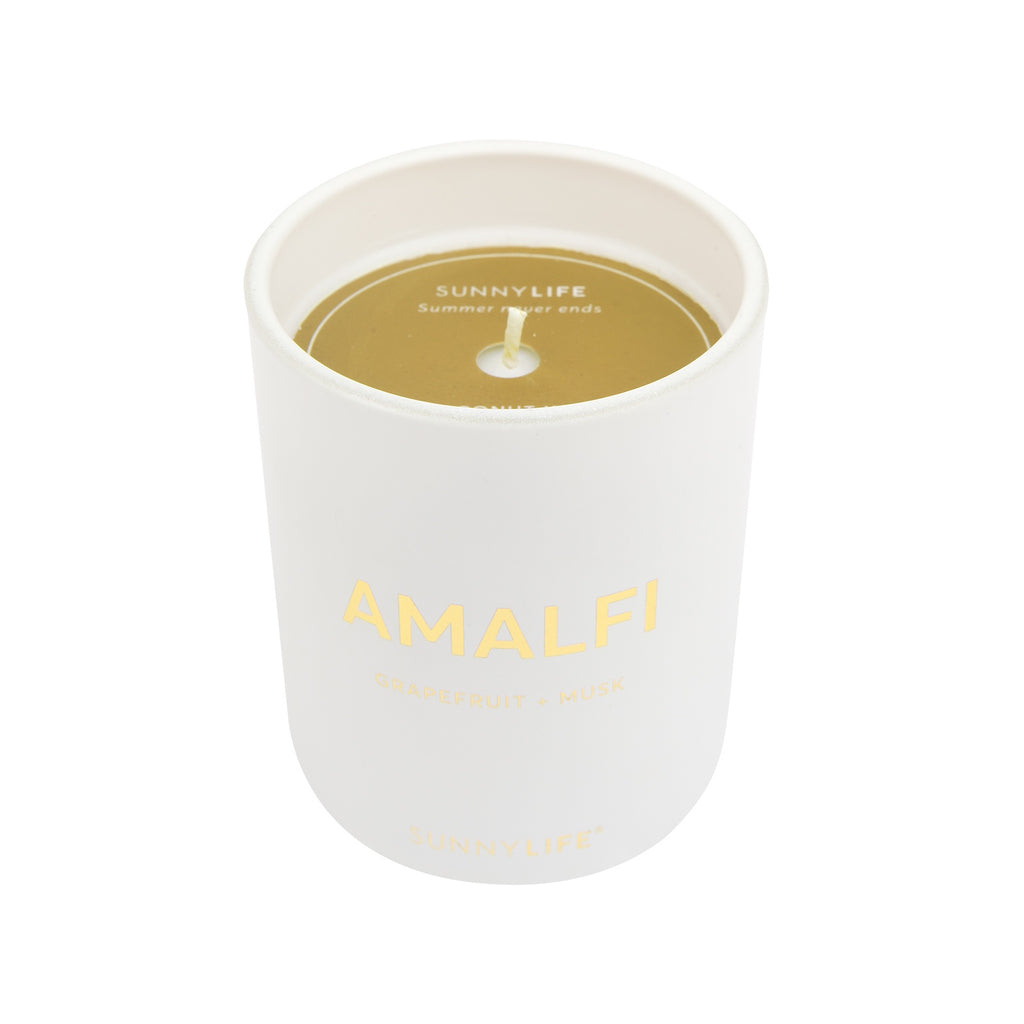 Sunnylife | Coconut Wax Scented Candle - Small - Amalfi | Shut the Front Door