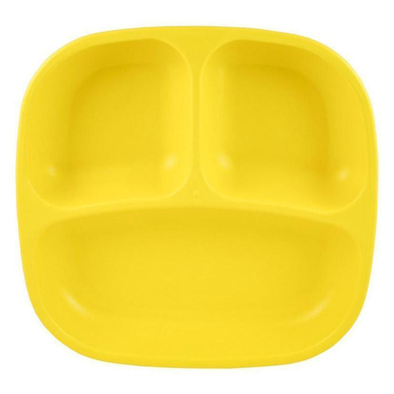 Re-Play | Re-Play Divided Plate - Yellow | Shut the Front Door