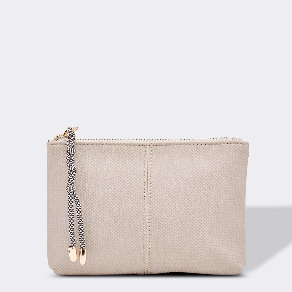 Louenhide | Meg Clutch Grey | Shut the Front Door