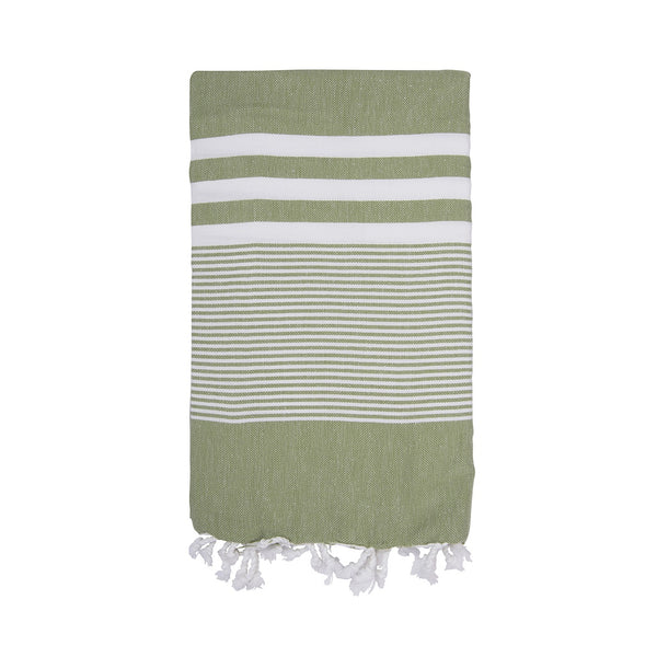 Shut the Front Door | Amber Turkish Towel - Kale | Shut the Front Door