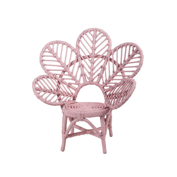 Rose Avenue | Kids Leaf Chair SOFT PINK | Shut the Front Door
