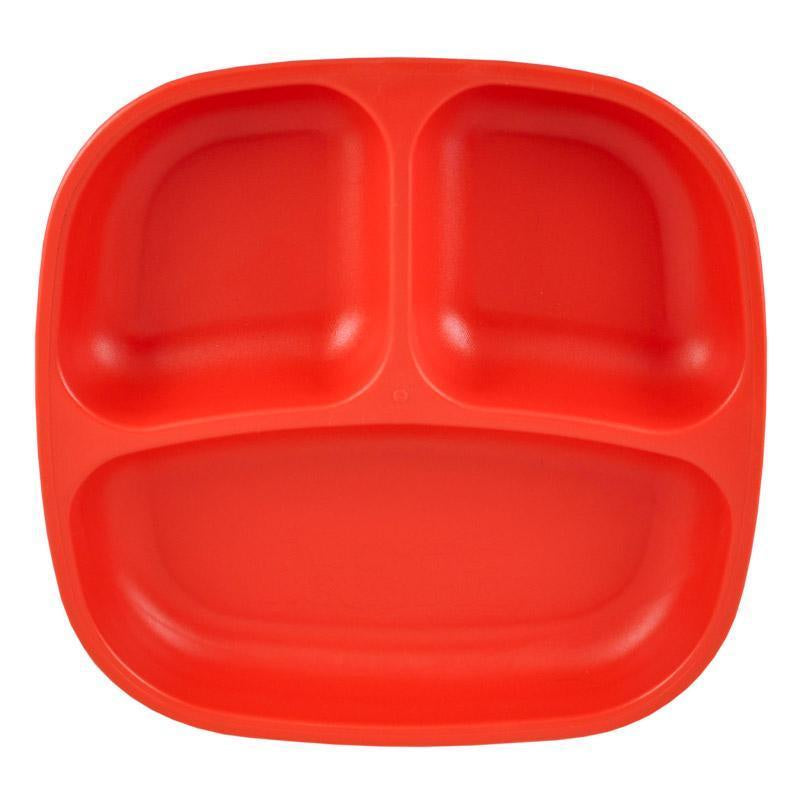 Re-Play | Re-Play Divided Plate - Red | Shut the Front Door