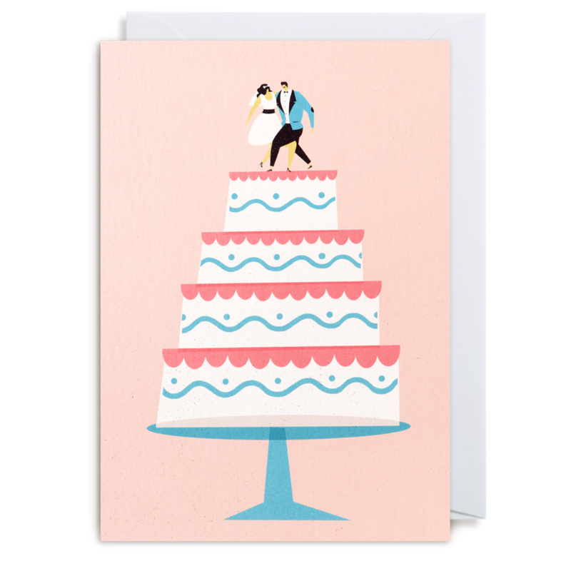Lagom | Wedding Cake Card | Shut the Front Door