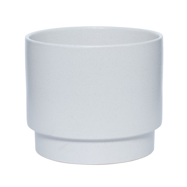 Milk & Sugar | Sawyer Plant Pot Large Soft White | Shut the Front Door