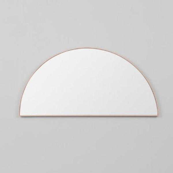 Middle of Nowhere | Bjorn Small Low Arch Mirror - Powder 50 x 25 cm | Shut the Front Door