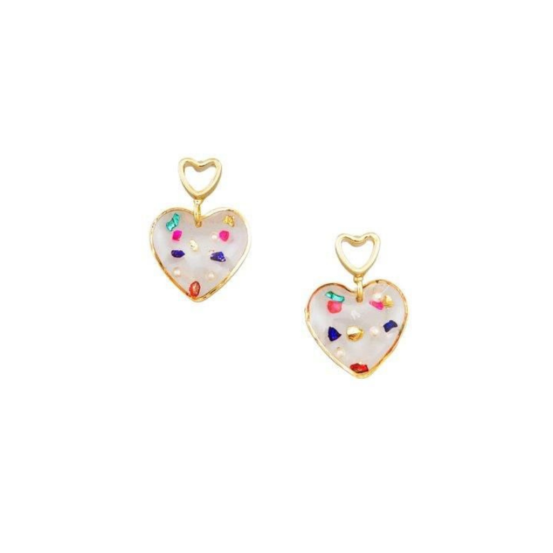Tiger Tree | Earrings Princess of Hearts | Shut the Front Door