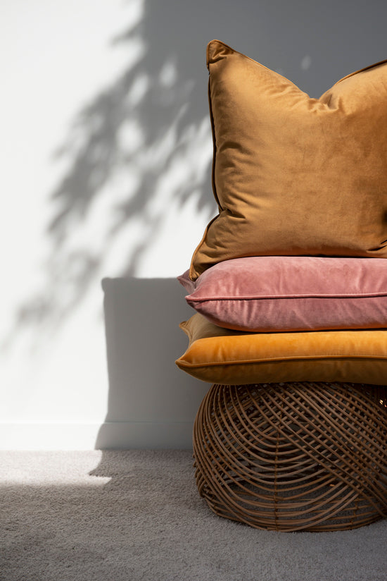 Mulberi | Quattro 50x50cm Cushion - Sunbaked Clay | Shut the Front Door
