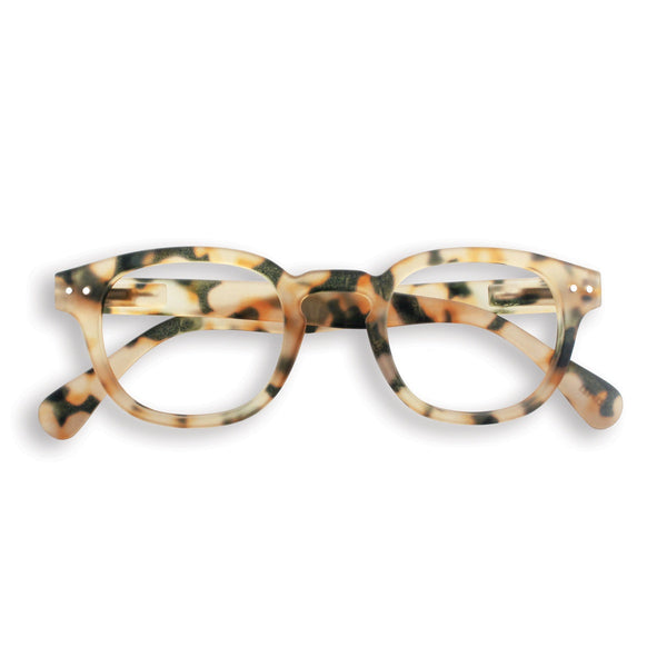 Izipizi | Reading Glasses Collection C Light Tortoise +3 | Shut the Front Door