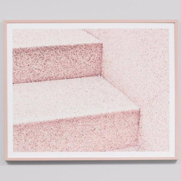 Middle of Nowhere | Frame Print Steps Pink | Shut the Front Door