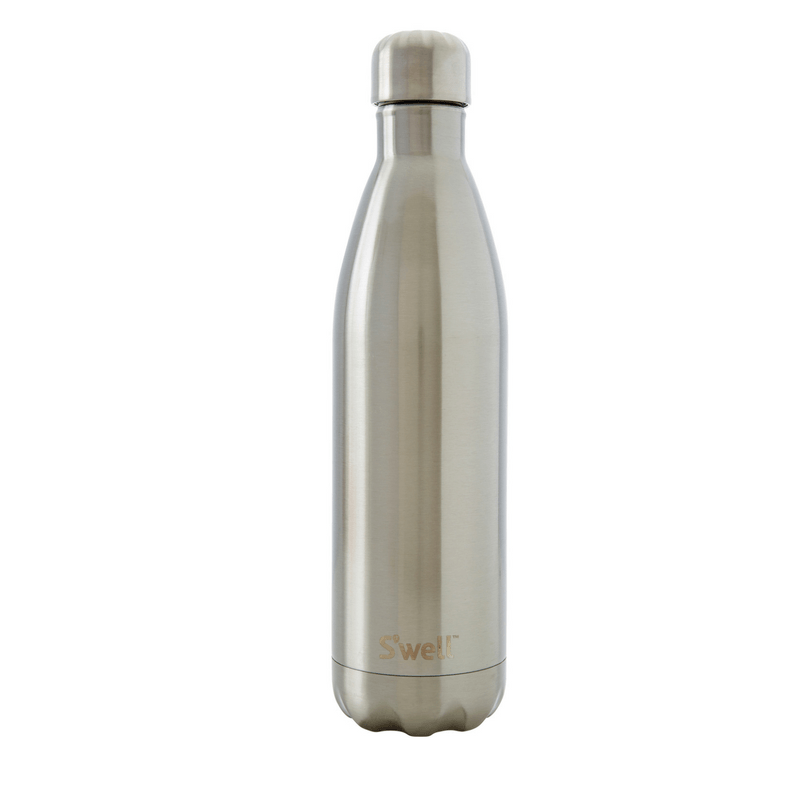 S'Well | S'Well Bottle 750ml Shimmer Collection Silver Lining | Shut the Front Door