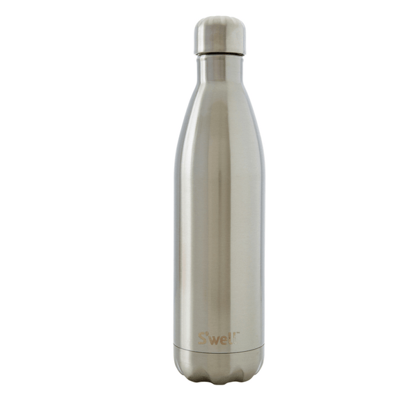 S'Well | S'Well Bottle 750ml Shimmer Collection Silver Lining *PRE ORDER* | Shut the Front Door