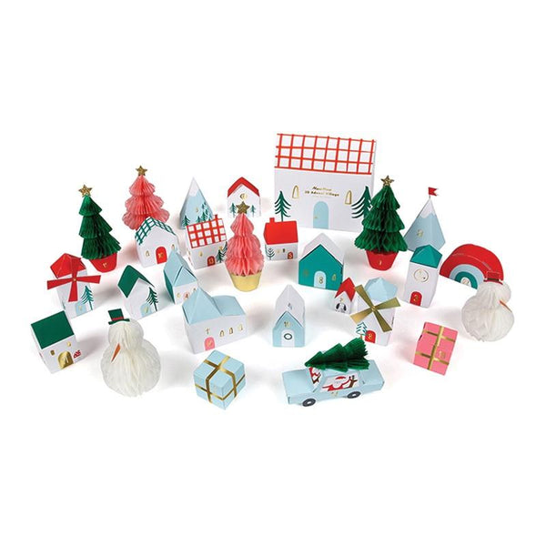 Meri Meri | Advent Calendar - Christmas Village *PREORDER* | Shut the Front Door