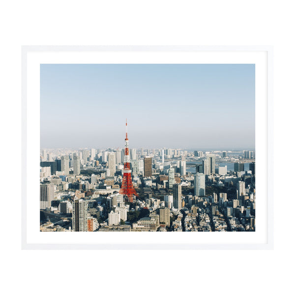 Milk & Sugar | Tokyo in Spring Framed Print | Shut the Front Door