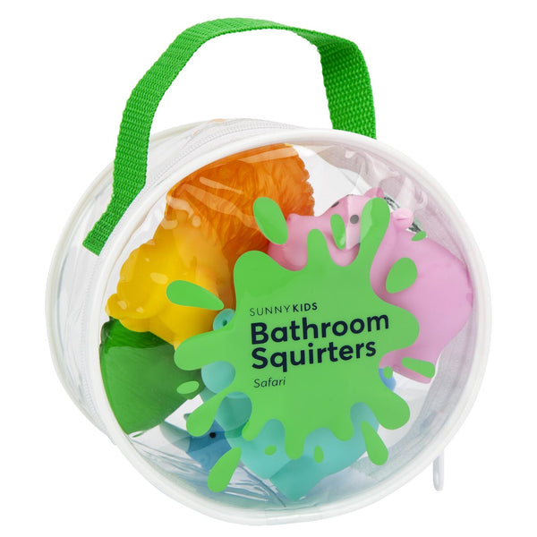 Sunnylife | Bathroom Squirter Toys - Safari | Shut the Front Door