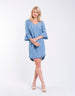 Foxwood | Mott Dress - Light Blue | Shut the Front Door