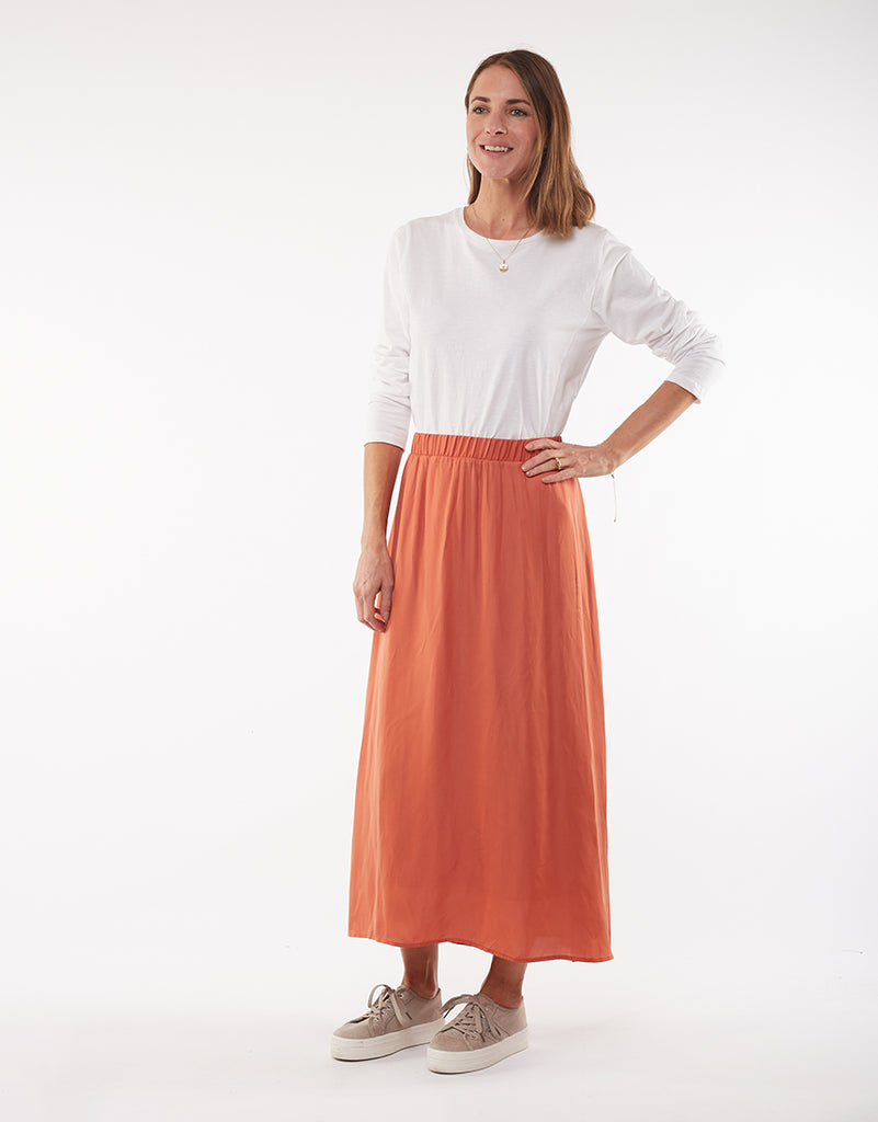 Foxwood | Shiloh Skirt - Bronze | Shut the Front Door