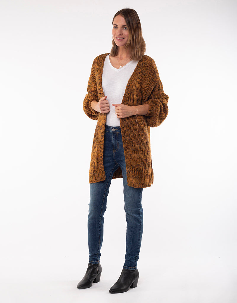 Foxwood | Nordic Cardigan - Mustard | Shut the Front Door