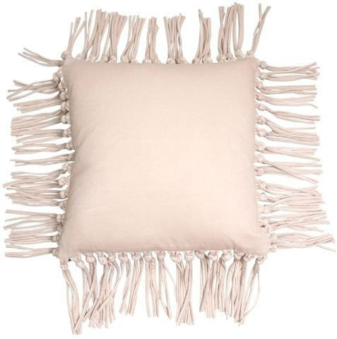 MRD home | Denna Fringe Cushion Nude | Shut the Front Door