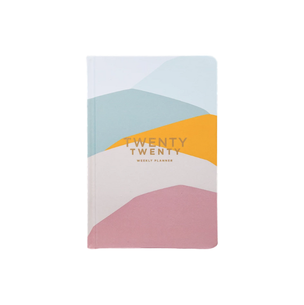 Frank | 2020 Weekly Planner - Pastel Hills | Shut the Front Door