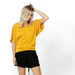 Betty Basics | Maui Tee - Mango | Shut the Front Door