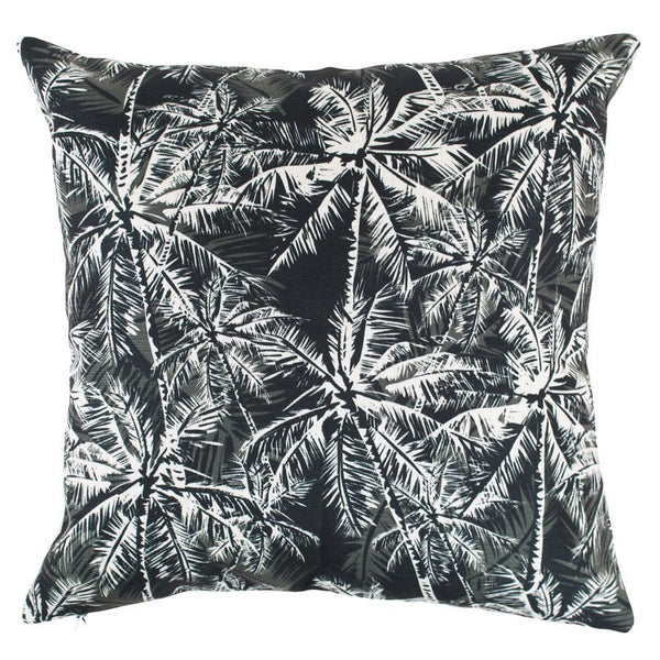Escape to Paradise | Outdoor Cushion Oasis Mono BLACK | Shut the Front Door
