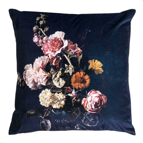 Kerridge Linen | Cushion Velvet Still Life Bouquet | Shut the Front Door