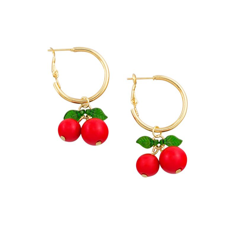 Tiger Tree | Tutti Fruitti Earrings - Cherry | Shut the Front Door