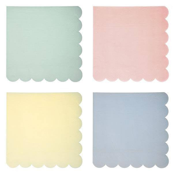 Meri Meri | Pastel Small Napkins | Shut the Front Door