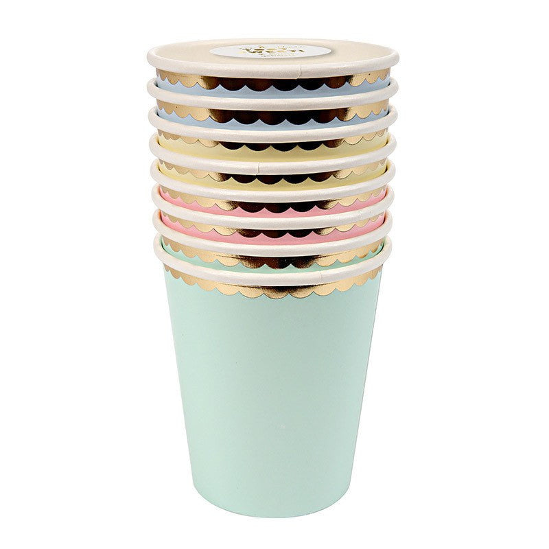 Meri Meri | Pastel Cups | Shut the Front Door