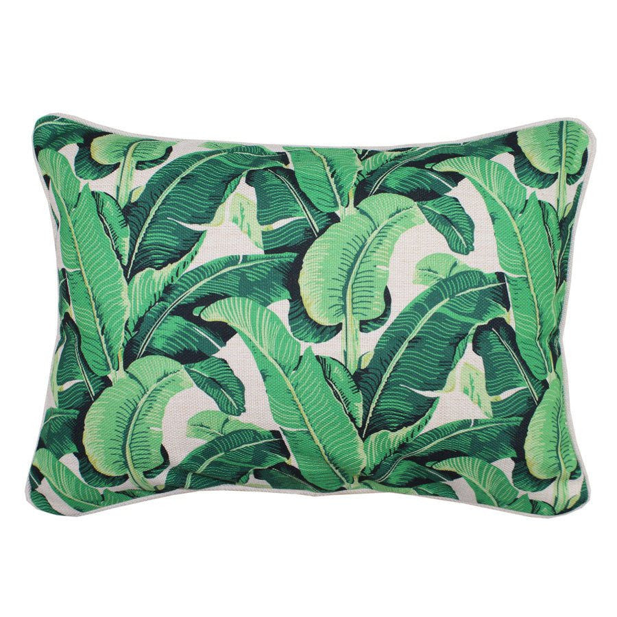 Escape to Paradise | Cushion Sanctuary Banana Leaf 35x50cm | Shut the Front Door