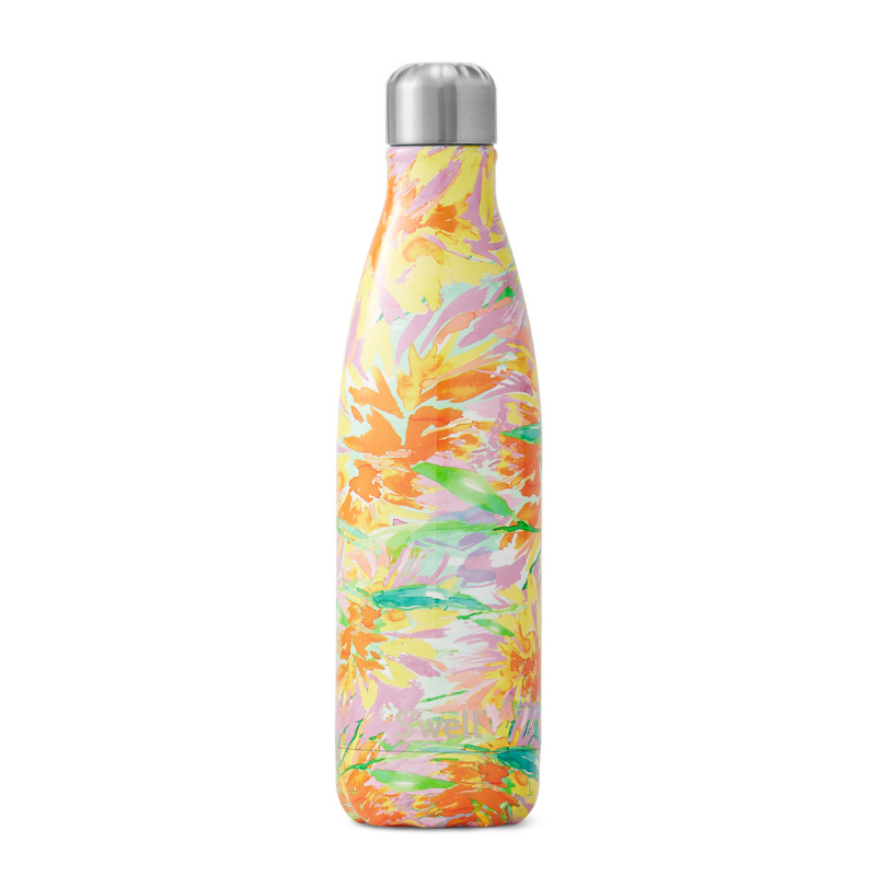 S'Well | S'Well Bottle 750ml Water Colour Floral Collection - Sunkissed | Shut the Front Door