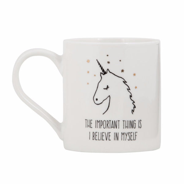 General Eclectic | Mug - Alway believe in myself Unicorn | Shut the Front Door