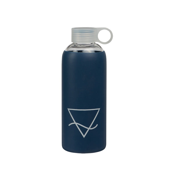 General Eclectic | Glass Drink Bottle - Ocean - 750ml | Shut the Front Door