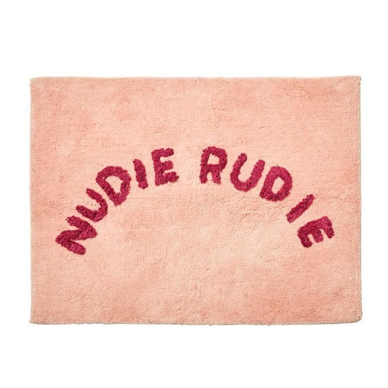 SAGE & CLARE | Tula Nudie Rudie Bath Mat - Pink | Shut the Front Door