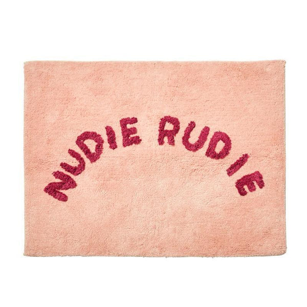 SAGE & CLARE | Tula Nudie Rudie Bath Mat Pink | Shut the Front Door