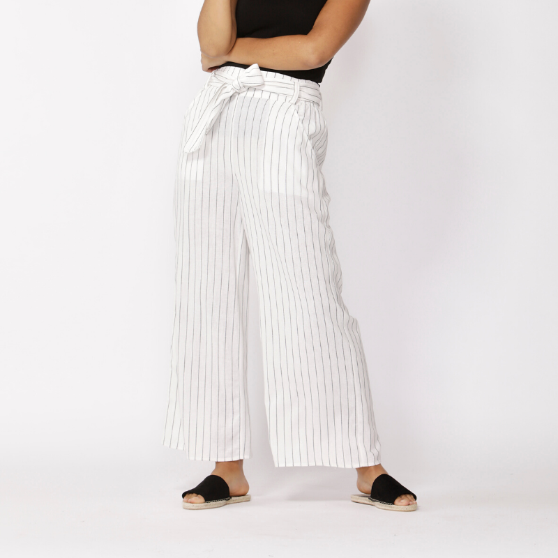 Betty Basics | Keto Pant - Pinstripe | Shut the Front Door