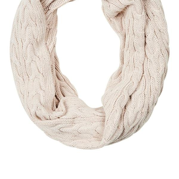 eb & ive | Palmaz Snood Vanilla | Shut the Front Door