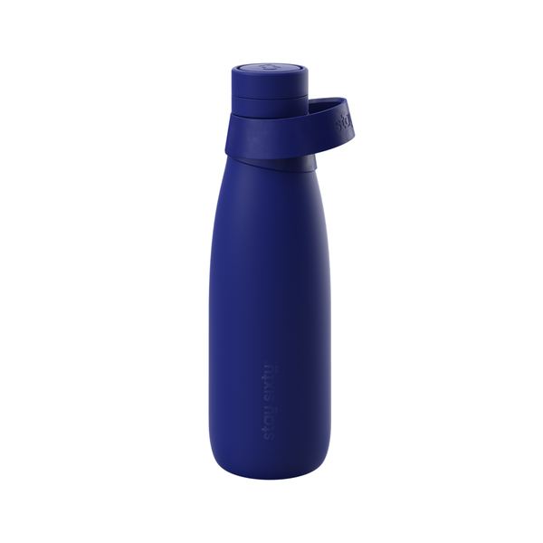 Stay Sixty | Stay Sixty Water Bottle - Cobalt | Shut the Front Door