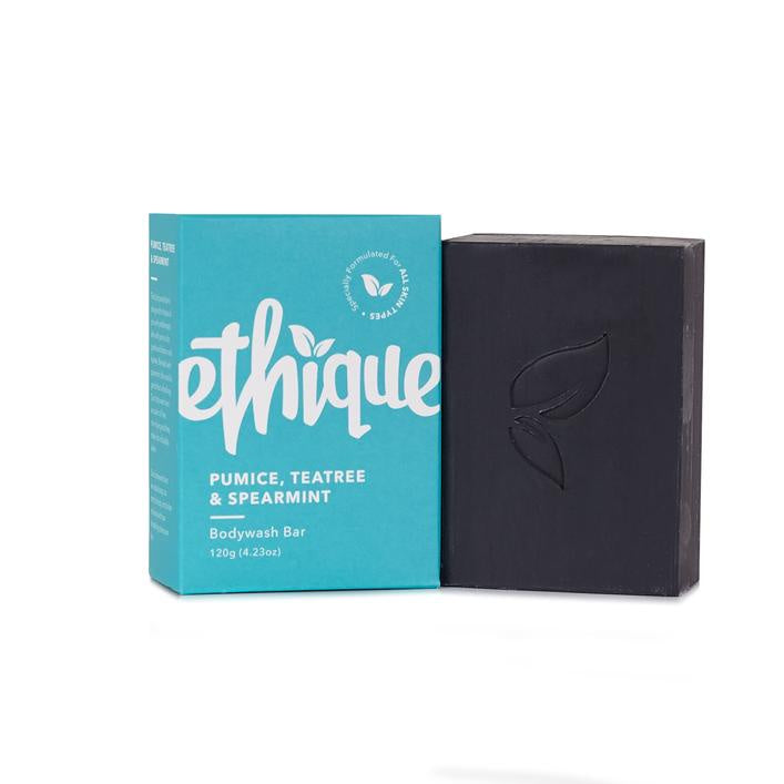 Ethique | Pumice Tea Tree & Spearmint Bodywash Bar | Shut the Front Door