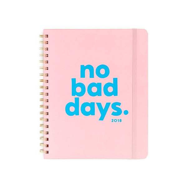 ban.do | 2018 12 Month Planner - No Bad Days | Shut the Front Door