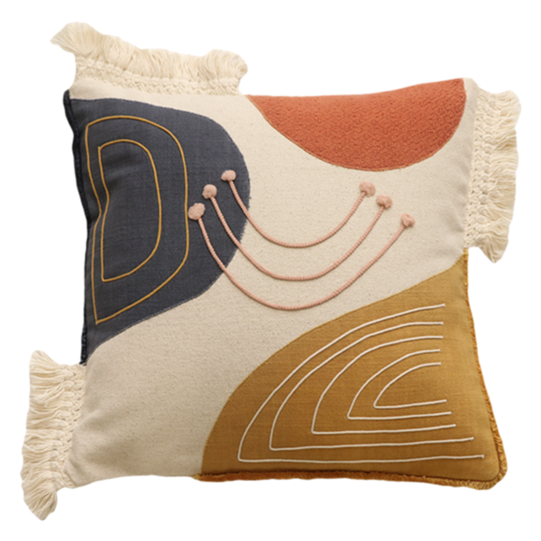 Mulberi | Artiste Cushion | Shut the Front Door