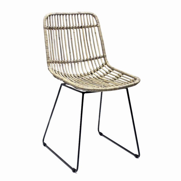 General Eclectic | Jefferson Rattan Dining Chair | Shut the Front Door