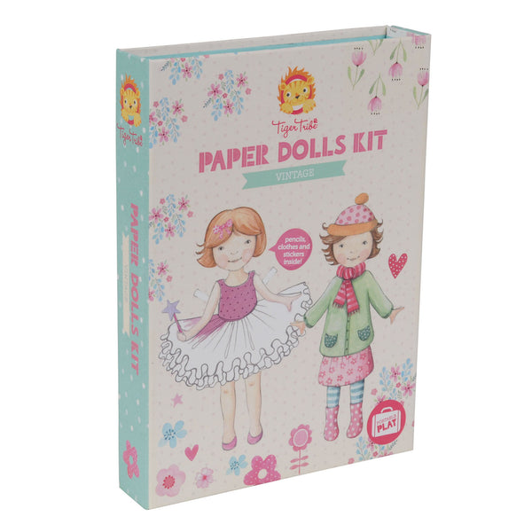 Tiger Tribe | Paper Dolls Kit | Shut the Front Door