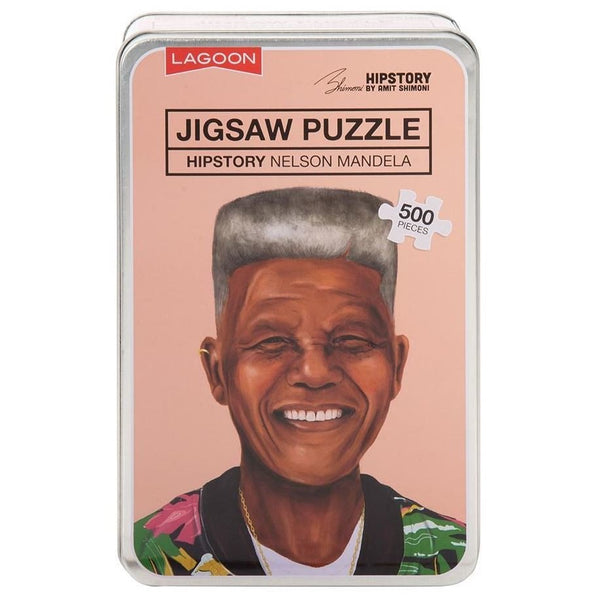 Hipstory | Hipstory Jigsaw - Nelson Mandela | Shut the Front Door