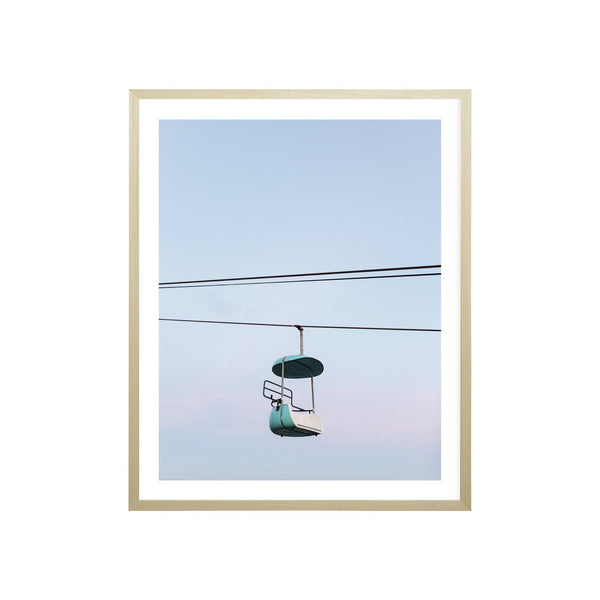 Milk & Sugar | Chairlift Framed Print | Shut the Front Door