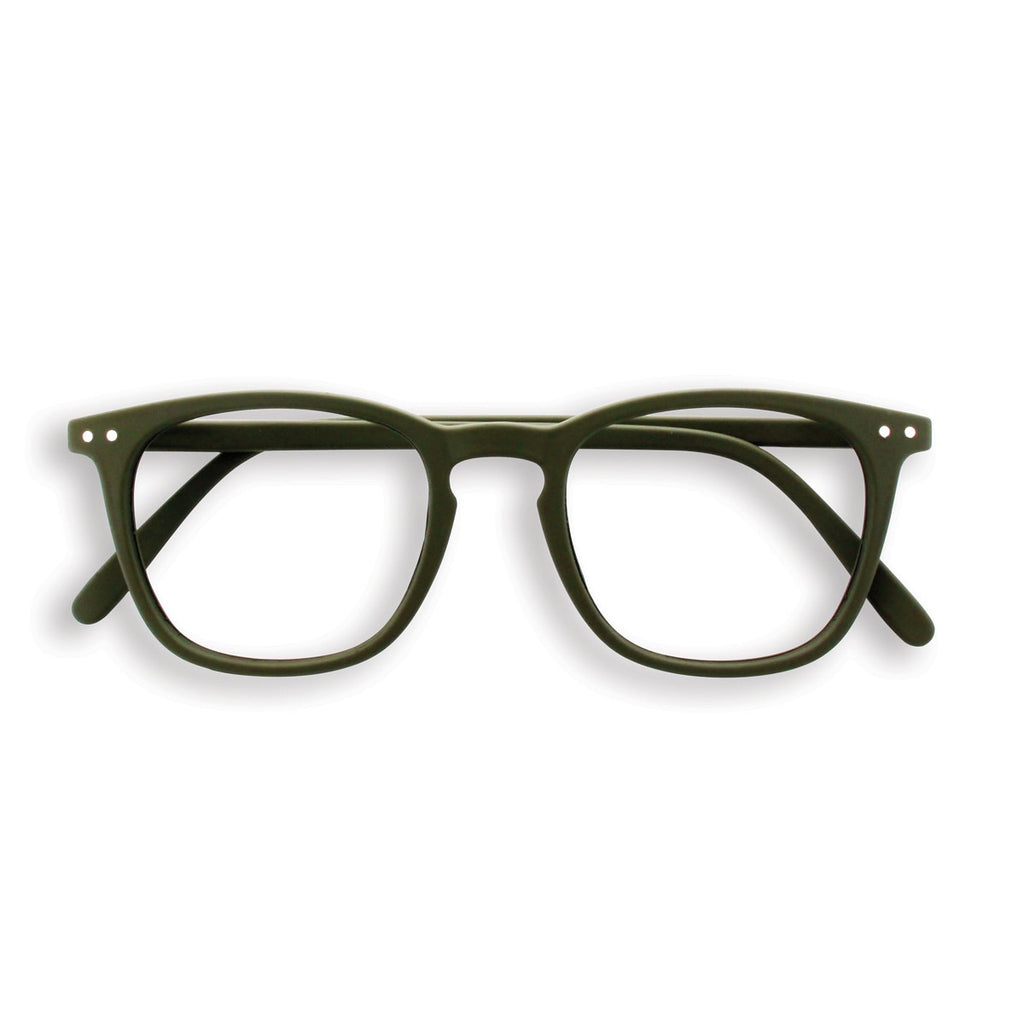 Izipizi | Reading Glasses Collection E Khaki Green +1.5 | Shut the Front Door