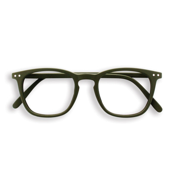 Izipizi | Reading Glasses Collection E Khaki Green +2 | Shut the Front Door